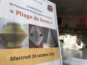 Pliage de Livres @ Bibliothèque | Fontaine-le-Bourg | Normandie | France