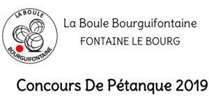 Concours de Pétanque 2019 @ Boulodrome