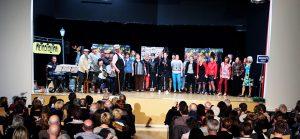 Spectacle musical de la compagnie 'Vagabondages' @ Salle des Tourelles   Fontaine-le-Bourg   Normandie   France